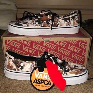 Vans Shoes - NWT ASPCA Cat Vans